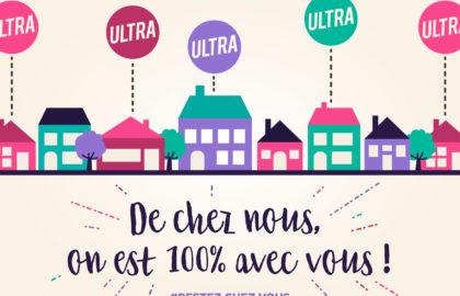 100% À LA MAISON, 100% CONFINÉS… MAIS 100% OPÉRATIONNELS !